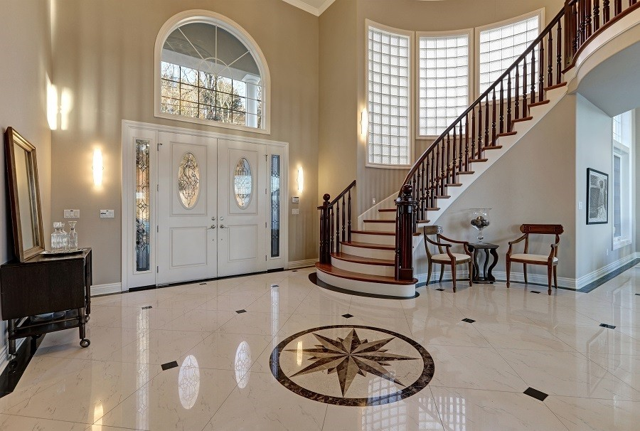 Front Doors and Staircases