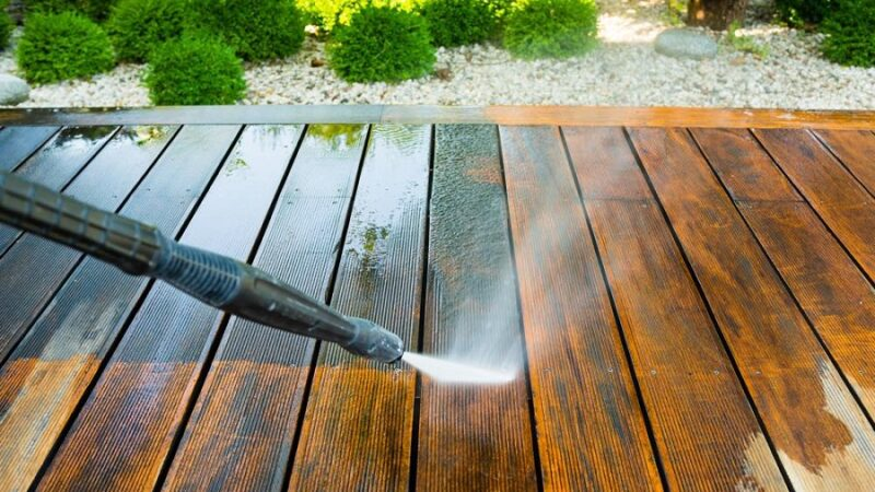 Power Washing Considerations