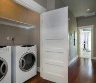 The Laundry Behind Sliding Doors
