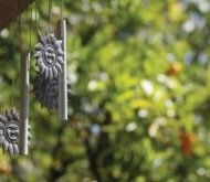 The Pleasant Relaxing Sound of Wind Chimes