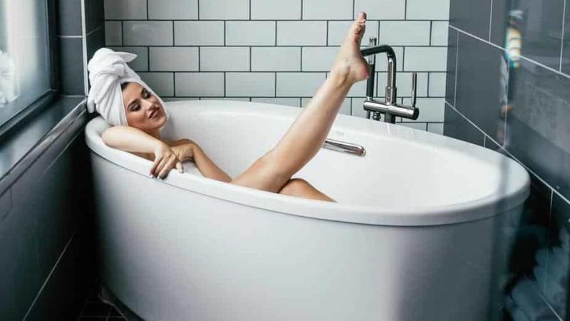 Women in bathtubs