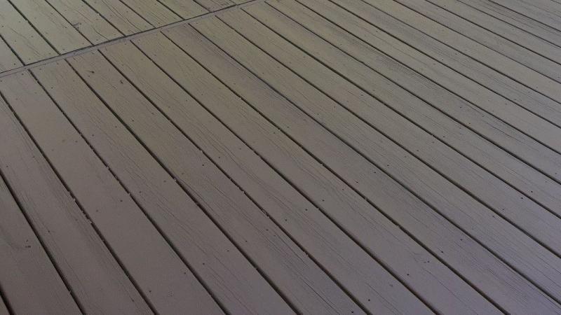 deck restaining